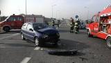 Wypadek w Pikutkowie przy wjeździe na autostradę A1. Sześć osób rannych!