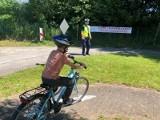 Egzaminy na kartę rowerową pod okiem policjantów. Uprawnienia do kierowania zdobyli wszyscy egzaminowani