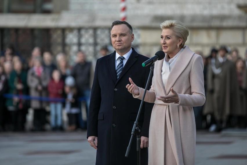 Koronawirus w Polsce. Agata Kornhauser-Duda zabiera głos.