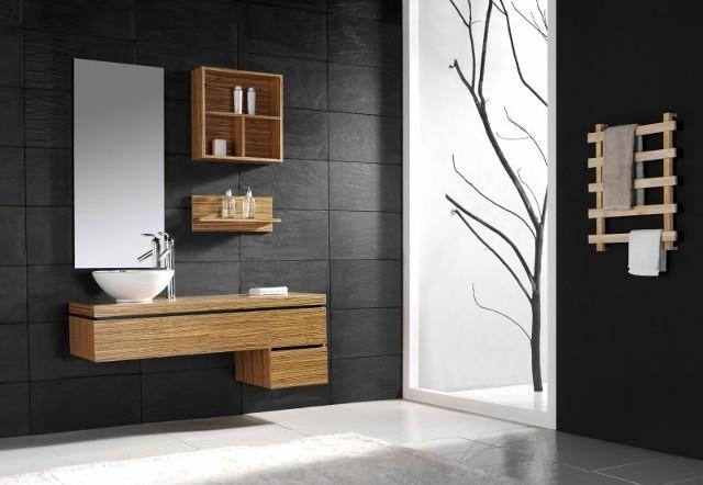 Meble łazienkowe Artvillano ML-048, wykonane z drewna, lakierowane, wodoodporne. Cena ok. 2,8 tys. zł.