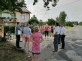 Spotkanie z mieszkańcami Silpi Małej w sprawie planowanej przebudowy drogi powiatowej