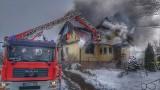 Pożar w Hajnówce. Ogień zabrał rodzinie wszystko. Mieszkańcy mobilizują się do pomocy pogorzelcom (zdjęcia)