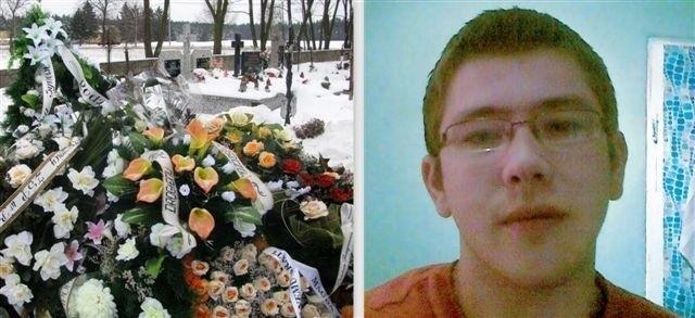 Piotrek został pochowany na cmentarzu w Świętym Miejscu, 15 stycznia. Na tabliczce widnieje data 6 listopada jako dzień jego śmierci.