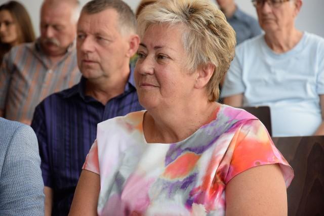 Grażyna Kędzierska, dyrektorka Biblioteki Publicznej w Sępólnie Krajeńskim