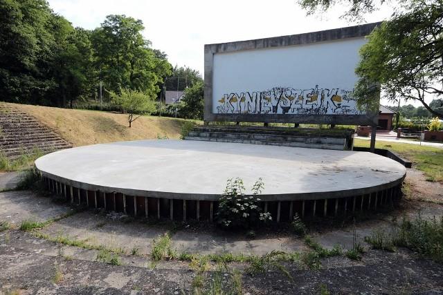 """Gdyby amfiteatr został wyremontowany, byłoby to idealne miejsce do prezentowania talentów szczecińskiej młodzieży i nie tylko - mówi Wioleta Smykowska, prezes Fundacji Kultury i Sportu """"Prawobrzeże""""."""