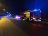 Śmiertelny wypadek w Dąbrówce Dużej (gm. Brzeziny). Zginął nieznany mężczyczna