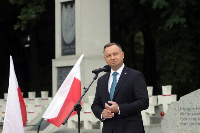 Prezydent Andrzej Duda: Jestem przeciwnikiem aborcji eugenicznej. Nieoczekiwanie w rozmowie wzięła udział jego żona Agata Korhauser-Duda