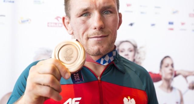 Tadeusz Michalik wywalczył brązowy medal igrzysk olimpijskich w Tokio w zapasach w kategorii do 97 kilogramów