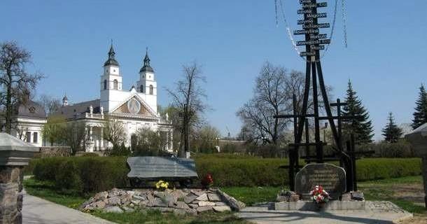 Kościół w Sokółce - to tutaj podobno doszło do cudu - hostia zamieniła się w ludzkie serce
