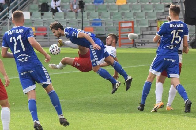Jesienią Podbeskidzie ograło PGE Stal 1:0, choć mecz był wyrównany.