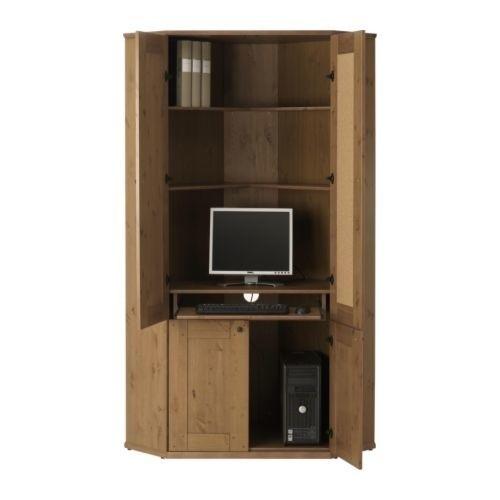 Biurko Ikea Biuro w domu, czyli stanowisko zamykane w szafie