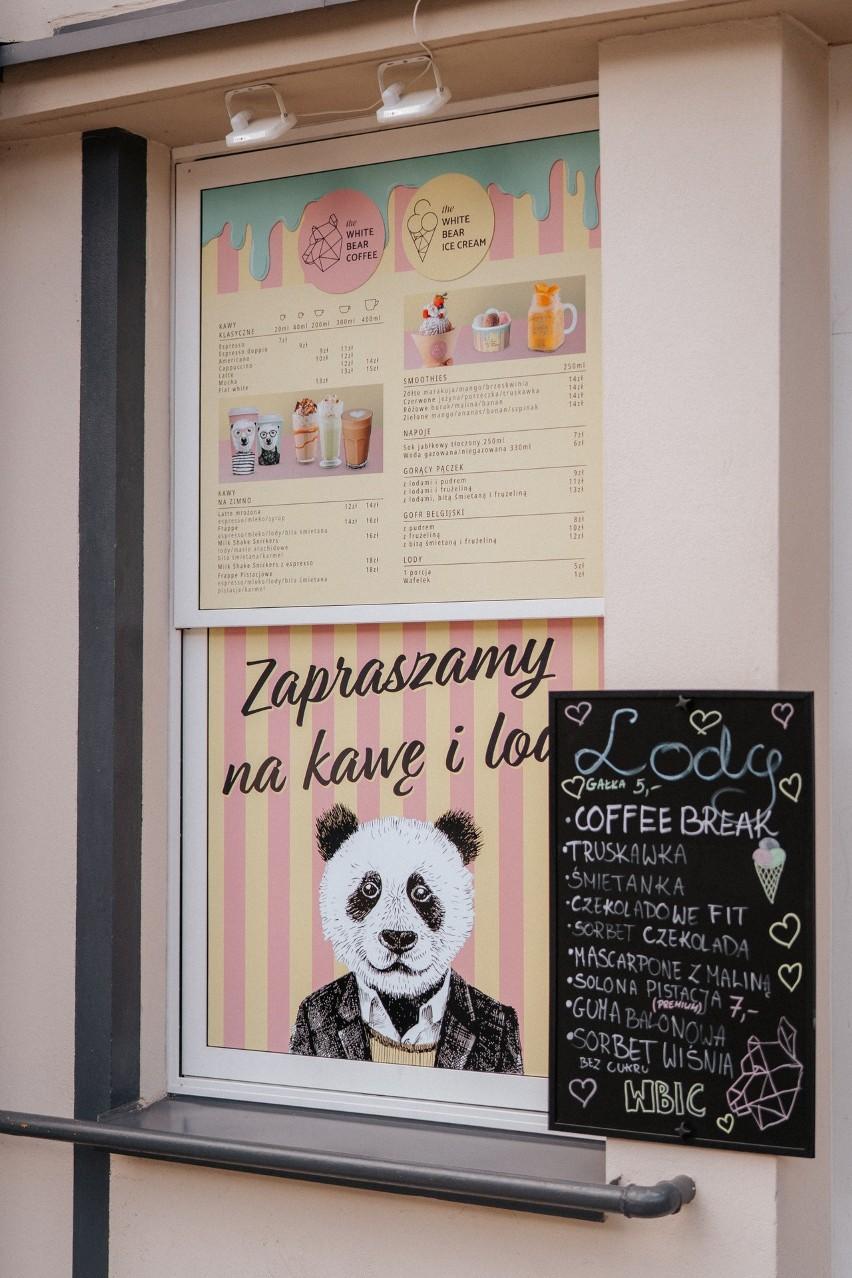 """W Białymstoku rusza nowa sieć lodziarni - the White Bear Ice Cream. Nowy pomysł """"polarnych miśków""""  [zdjęcia]"""