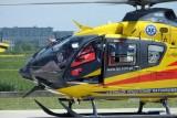 W Świętochłowicach mężczyzna wypadł z okna. Lądował helikopter LPR