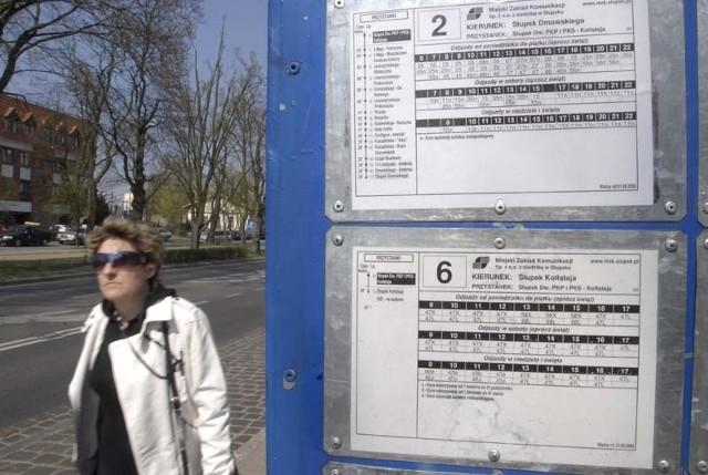 Nowy rozkład jazdy linii numer 2 przy ul. Kołłątaja.