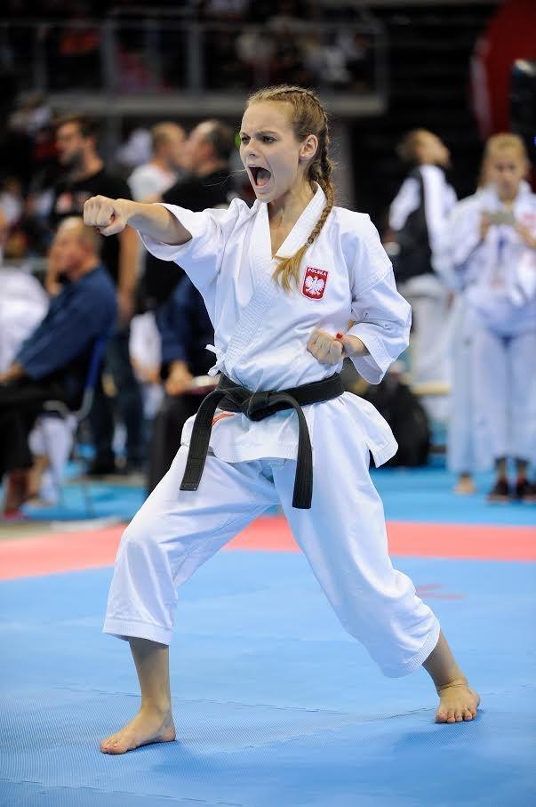 Wiktoria Zachariasz zdobyła złoto w kata drużynowym juniorek