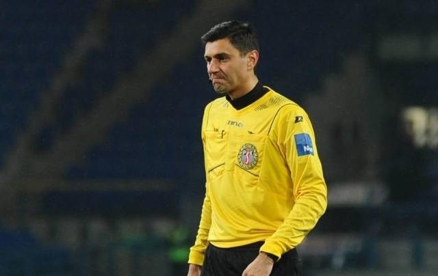 Krzysztof Jakubik został ukarany za fatalne sędziowanie w meczu przy Reymonta