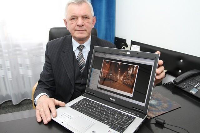 - W kieleckim Oddziale Elektroprojektu pracuję od począt-ku jego istnienia, to znaczy od 40 lat. Przez ten czas włożyłem sporo pracy w upiększanie Kielc – mówi Kazimierz Ginał.