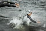 Enea Bydgoszcz Triathlon - dzień 2. Zawodnicy rywalizowali na dystansach 1/2 i 1/8 [zdjęcia]