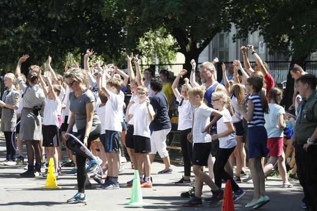 Dzień Dziecka  w Szkole Podstawowej nr 153 w Łodzi
