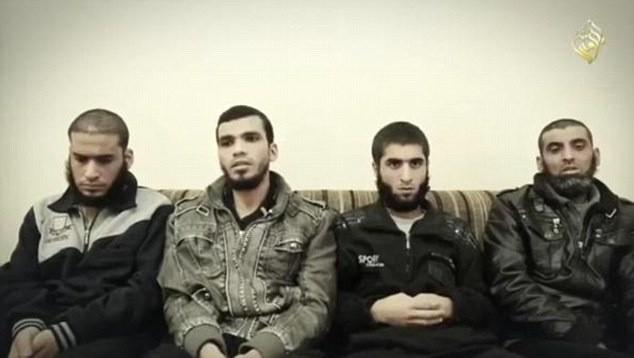 Egzekucja czterech złodziei z Mosulu