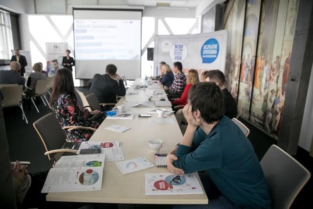Spotkanie w Jagiellońskim Centrum Innowacji w Krakowie zgromadziło innowatorów zregionu