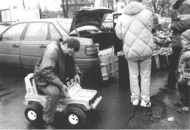 Takie cuda, jak elektryczne auta, można było kupić tylko z samochodu.