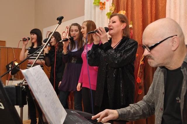 Koncert zakończyła bielska wokalistka Jadwiga Zawadzka