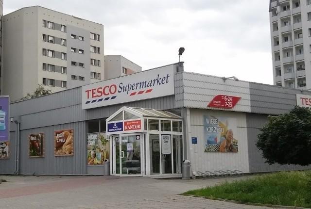 Do napadu na ochroniarza doszło w Tesco w Katowicach