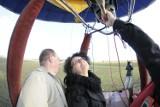 Lot balonem nad Łodzią. Zwycięzcy naszego konkursu odebrali nagrodę [FILM]