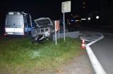 Biała Podlaska: Wypadek w Konstantynowie. 22-letni motocyklista nieoczekiwanie zmienił pas ruchu