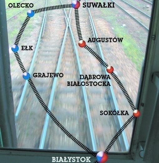 Dwa warianty przebiegu Rail Baltica