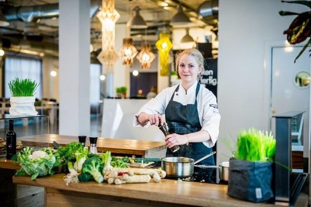 I laureatka rezydencji kulinarnej - Małgorzata Pindych