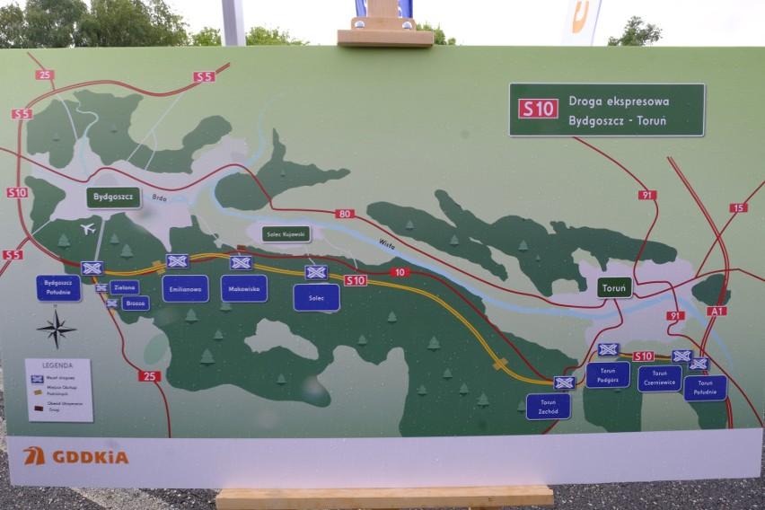 Tak trasa ekspresowa S10 będzie przebiegać między Toruniem a...