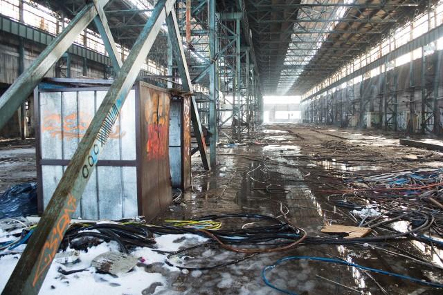 Tak obecnie wyglądają tereny dawnej fabryki konstrukcji stalowych w Starosielcach