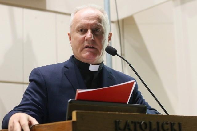 Ks. prof. dr hab. Mirosław Kalinowski, rektor KUL