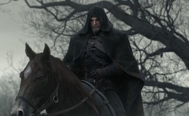 Wiedźmin 3: Dziki GonWiedźmin 3: Dziki Gon i Geralt na Ziemi Niczyjej.
