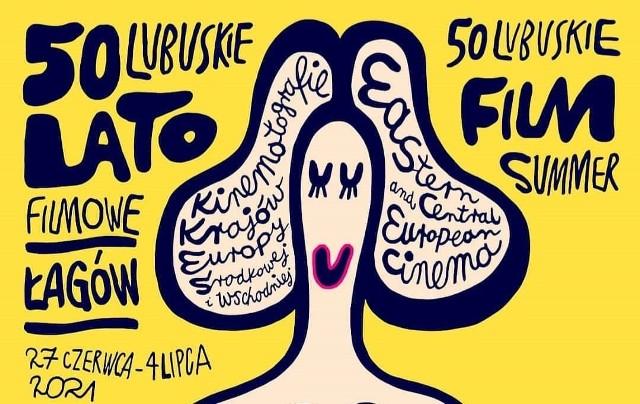 Już tradycyjnie autorem plakatu 50. Lubuskiego Lata Filmowego jest znany wrocławski artysta dr hab. Tomasz Broda
