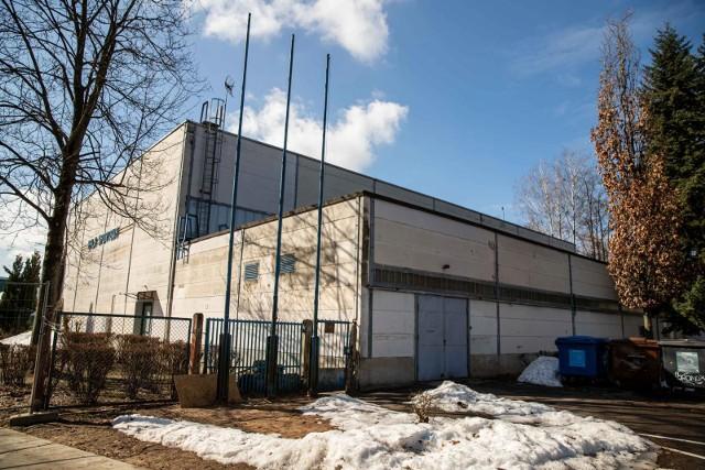 Szpital tymczasowy przy ul. Wołodyjowskiego w Białymstoku (hala UMB).