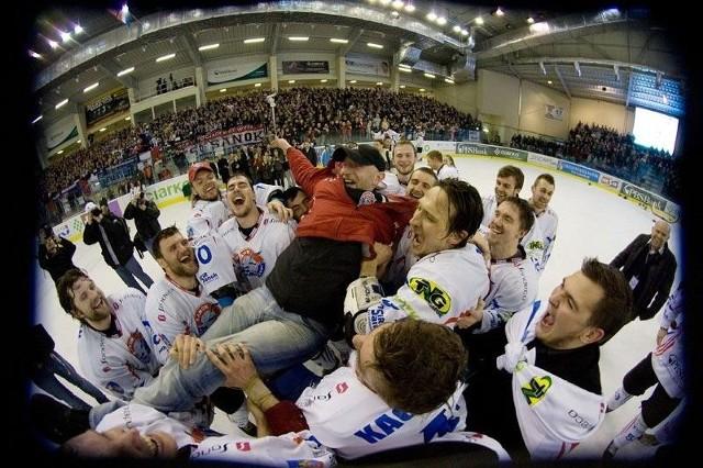 Marek Ziętara zdobył z hokeistami z Sanoka jedyny medal w historii - złoto w 2012 roku.