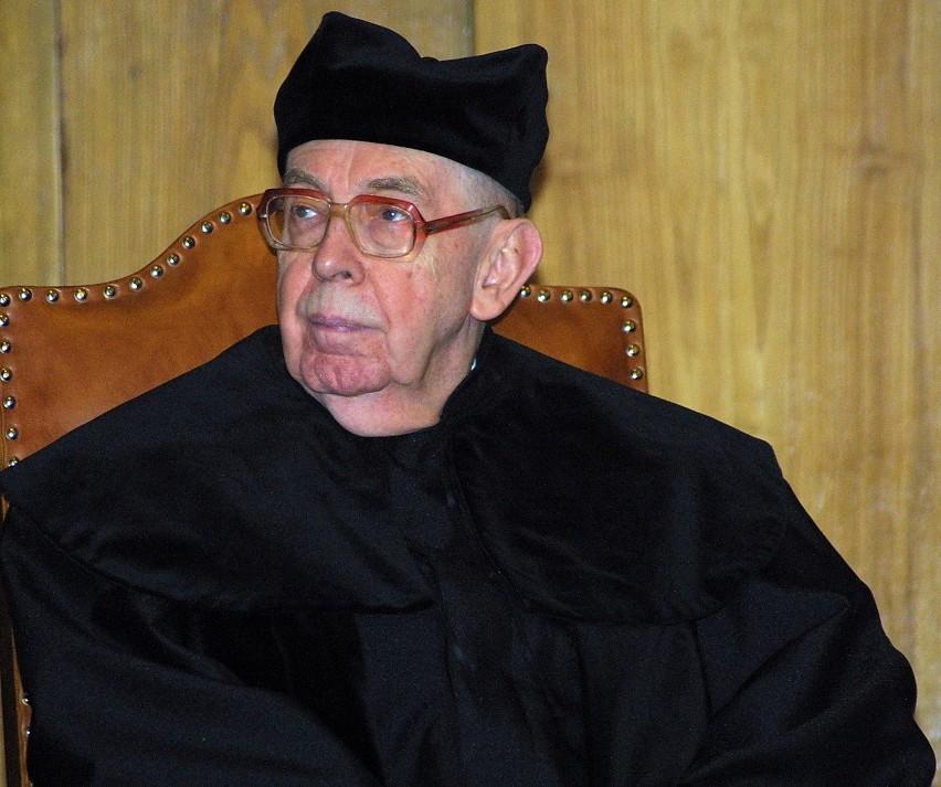 Profesor Krzysztof Skubiszewski był wybitnym specjalistą prawa międzynarodowego publicznego