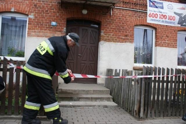 Niewybuch w wersalce znaleziono w jednym z mieszkań w miejscowości Łąg.
