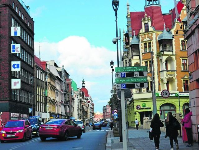 Nowe elektroniczne tablice w Gliwicach zamontowano m.in. przy ulicy Zwycięstwa