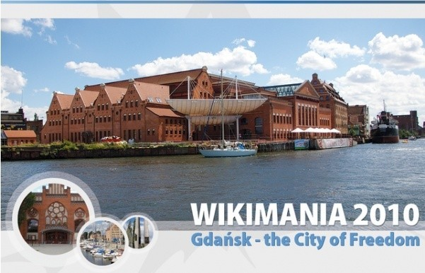Baner promujący Wikimanię 2010
