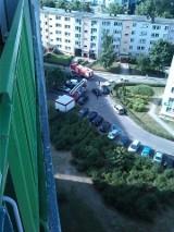 Osiedle Słoneczne. Strażacy kontra pojazdy mieszkańców