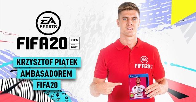 Krzysztof Piątek polskim ambasadorem gry FIFA 20