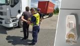 Kierowca 40-tonowego TIR-a pod wpływem amfetaminy. Zatrzymano go na A1 w woj. kujawsko-pomorskim