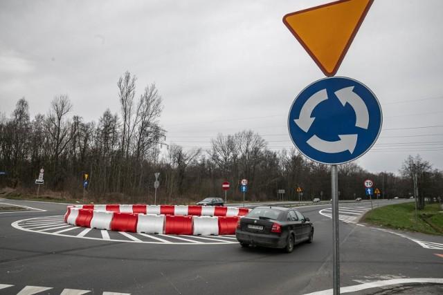 Rondo na ul. Jasnogórskiej w Krakowie