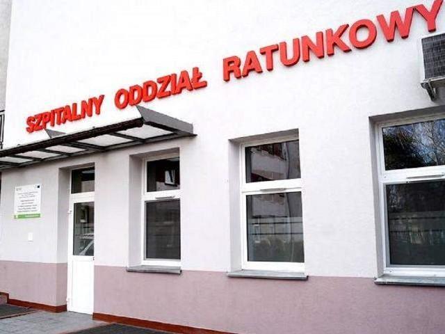 Mozolna kuracja szpitala we Włocławku.