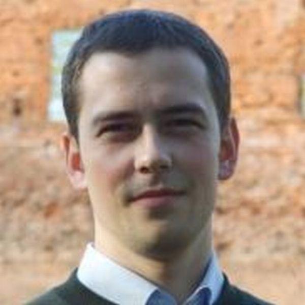 Michał Młotek, pracownik zespołu prasowego Urzędu Miasta Iławy