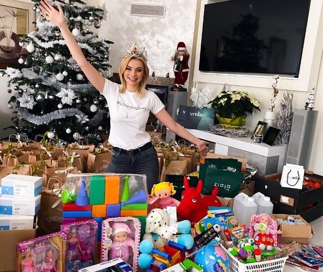 """Dzięki akcji """"Korona z głowy"""" potrzebne artykuły kosmetyczne i higienicze ale też zabawki dotarły do setek dorosłych i dzieci przebywających w placówkach opiekuńczych w całym kraju."""